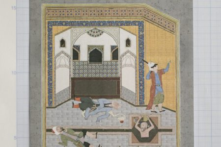 From the manuscripts of مجانین بادکوبه (Madmen of Bâdkub). Unidentified authors.