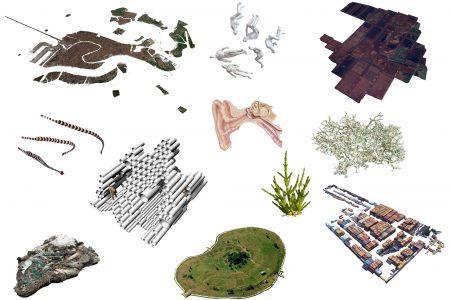 Gediminas & Nomeda Urbonas, Futurity Island (artists' rendering), 2018.